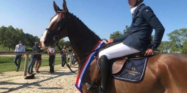 Darmagnac de Beliard, champion de France des 7 ans 2020