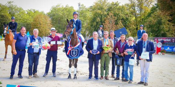 Ginger de Béliard, Championne de France des 5 ans à Pompadour